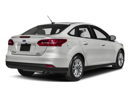 Ford Focus Sedan >> 2017 Ford Focus Se